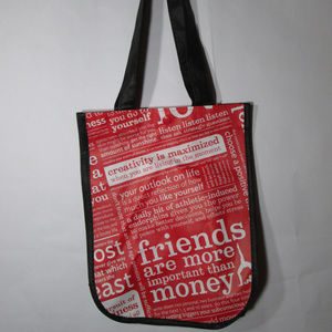 Lululemon Small Resusable Shopping Tote Bag